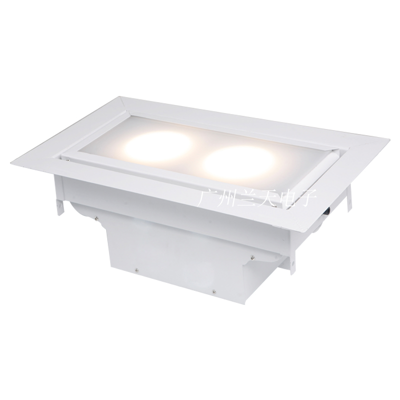 120W 嵌入式LED两头会议灯